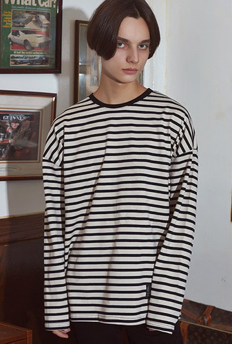 [크럼프] Crump basic stripe long sleeve tee(CT0111)
