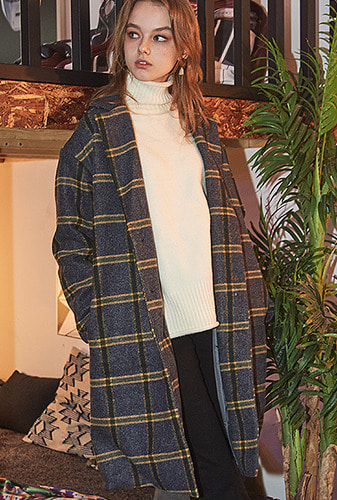 [크럼프] Crump over-fit classic check coat (CO0010-1)