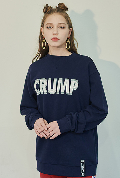 [크럼프] Crump stereo sweat shirt (CT0125-2)