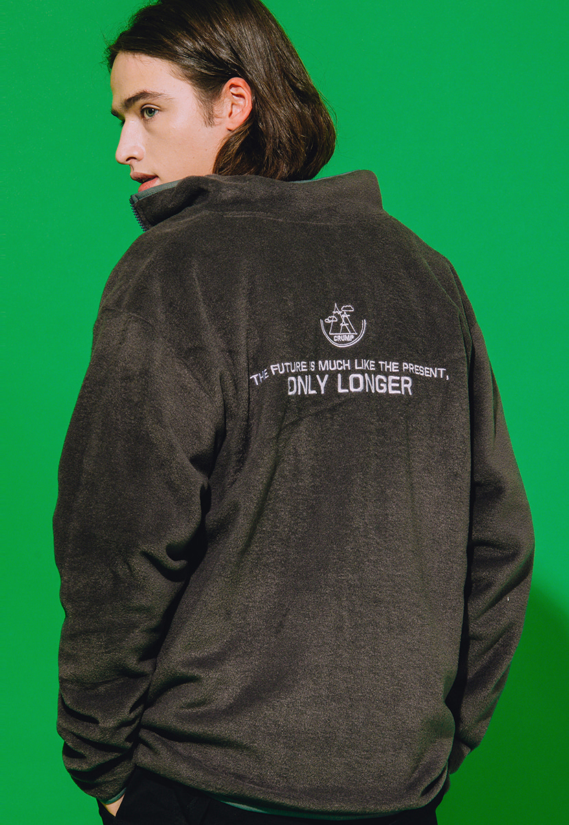 [크럼프] Crump longer fleece zipup (CO0023-1)