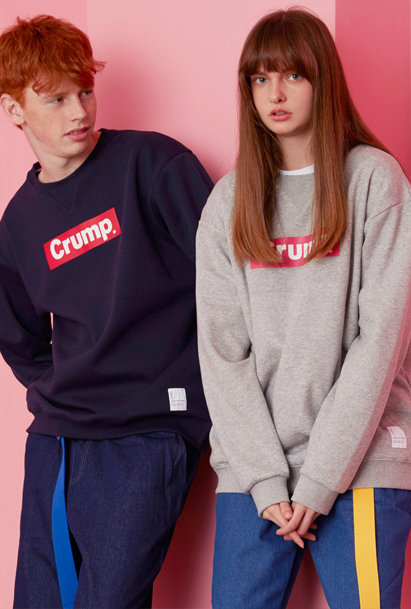 Crump box logo sweat shirt (CT0001) 7컬러