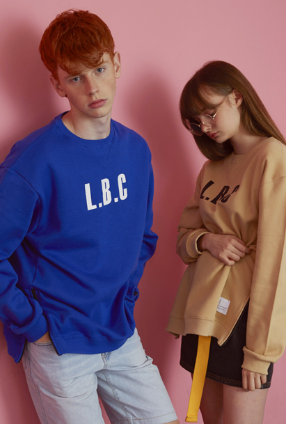 Crump LBC sweat shirt (CT0004) 4컬러