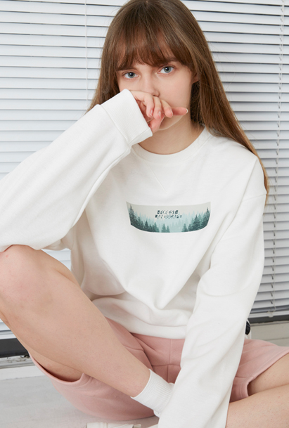 Crump forest sweat shirt (CT0018) 2컬러