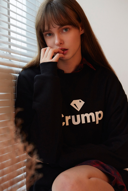 Crump logo sweat shirt (CT0020) 4컬러