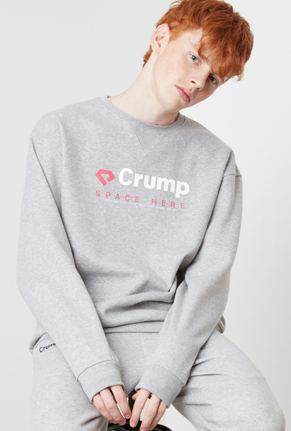Crump space sweat shirt (CT0023) 3컬러