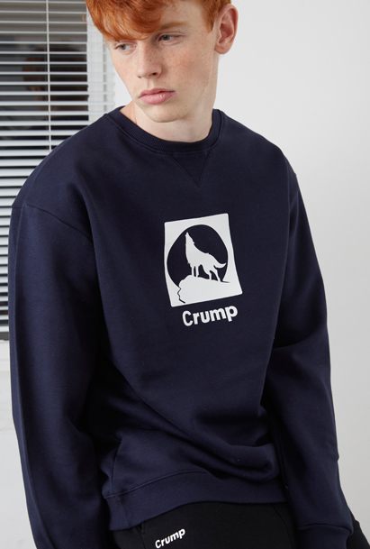 Crump square sweat shirt (CT0025) 3컬러