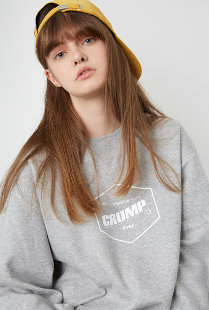 [크럼프] Crump hexagon sweat shirt (CT0026)