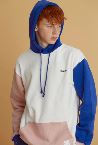 [크럼프] Crump color block hoodie (CT0042-1)