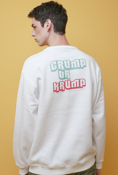 [크럼프] Crump graphic sweat shirt (CT0008_1)