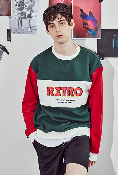 [크럼프] Crump retro sweat shirt(CT0063-3)