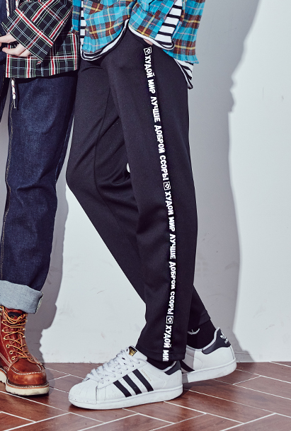 [크럼프] Crump signature long pants (CP0015)