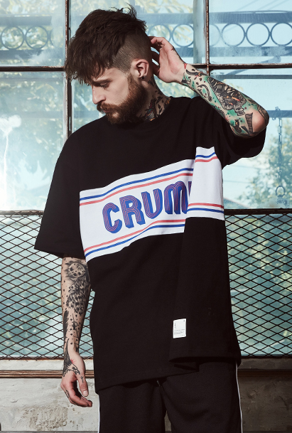 [크럼프] Crump line logo tee(CT0091-1)