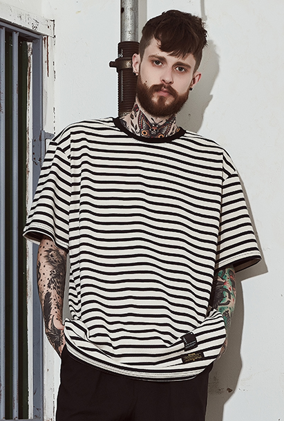 [크럼프] Crump basic stripe tee(CT0098)