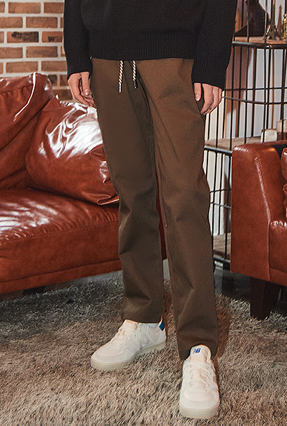 [팬츠기획전][크럼프] Crump x thisrespect basic cotton pants (CP0037-2)