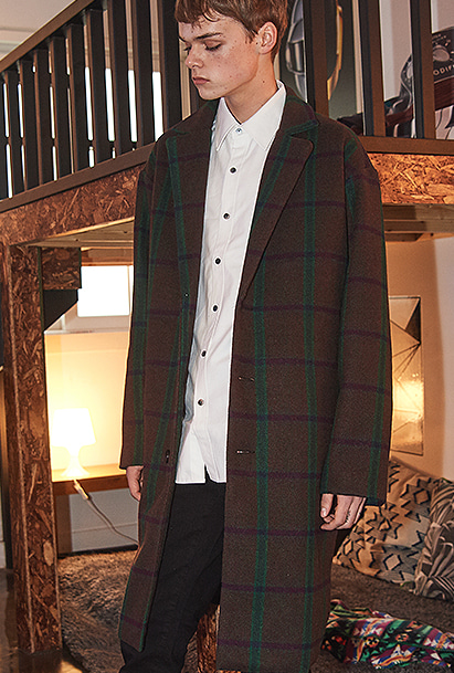 [크럼프] Crump over-fit classic check coat (CO0010-2)