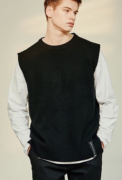 [크럼프] Crump wool overfit vest (CT0137)