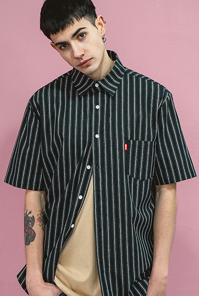[크럼프] Crump stripe shirts (CS0031)