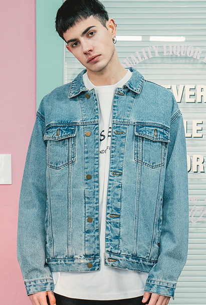 [크럼프] Crump basic denim jacket (CO0019)