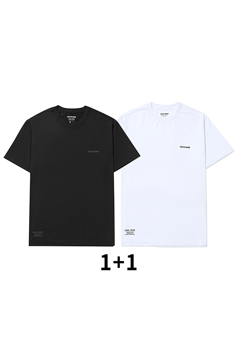 [크럼프] Techflavor optimize cool teck tee(TT0008 set)