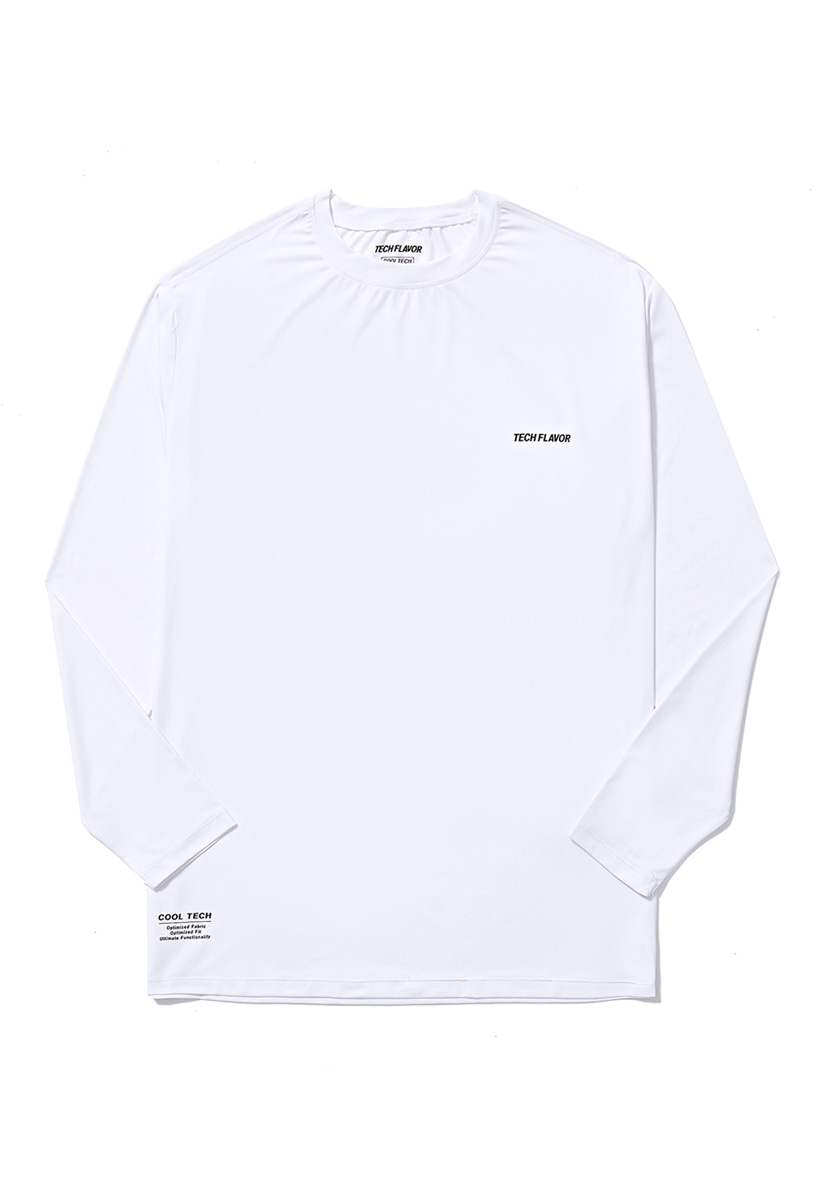 [크럼프] Techflavor optimize cool teck long sleeve tee (TT0009-1)