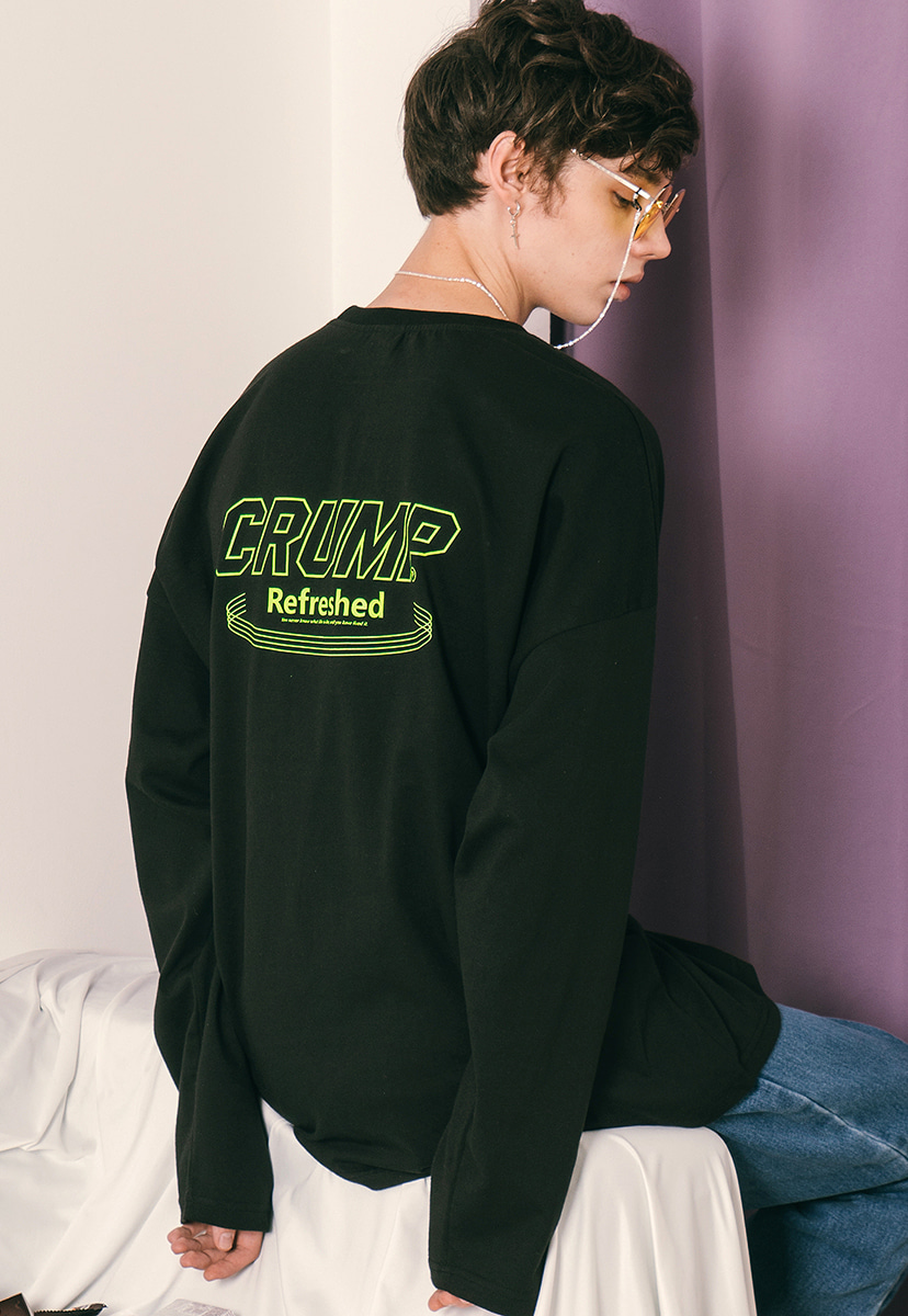 [크럼프] Crump refresh long sleeve tee (CT0165)