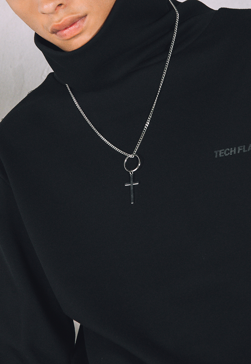 [크럼프] Techflavor cross necklace (TA0015)