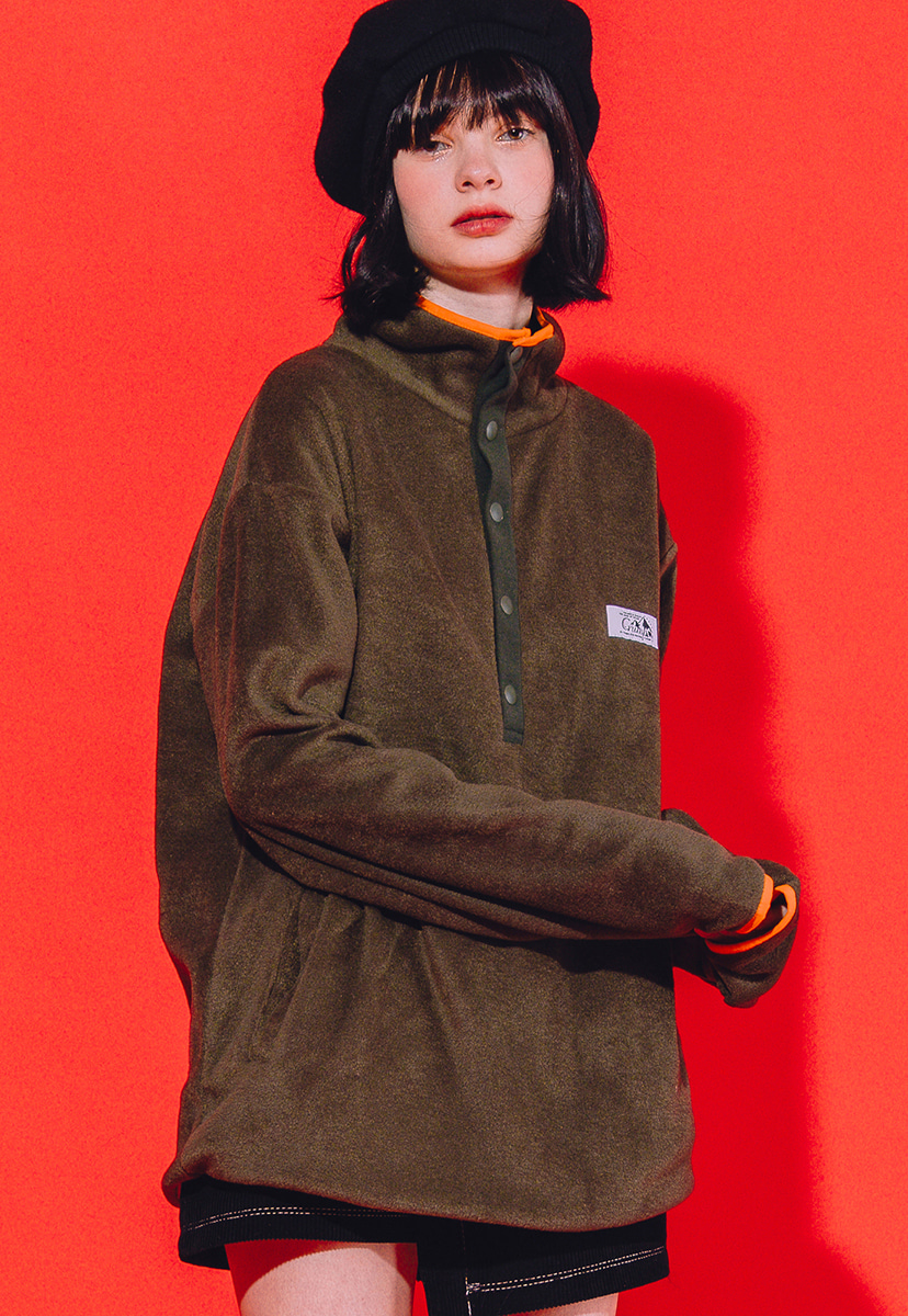 [크럼프] Crump outdoor fleece half zipup (CT0178-2)