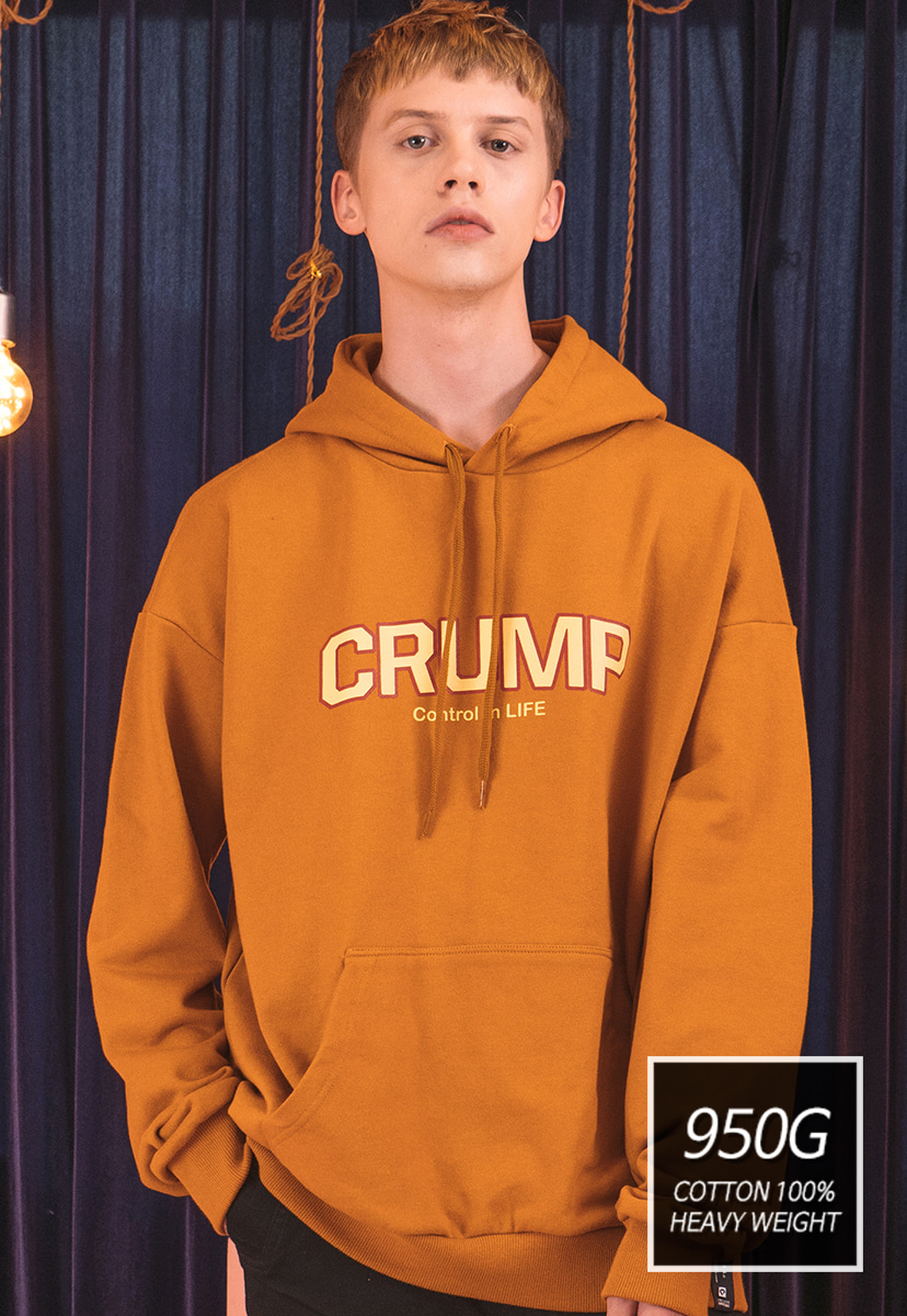 [SOLD OUT] [크럼프] [기모] 950g Crump soft hoodie (CT0169-1)