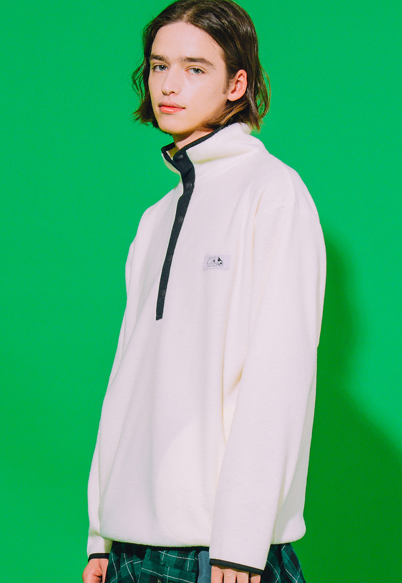 [크럼프] Crump outdoor fleece half zipup (CT0178-1)