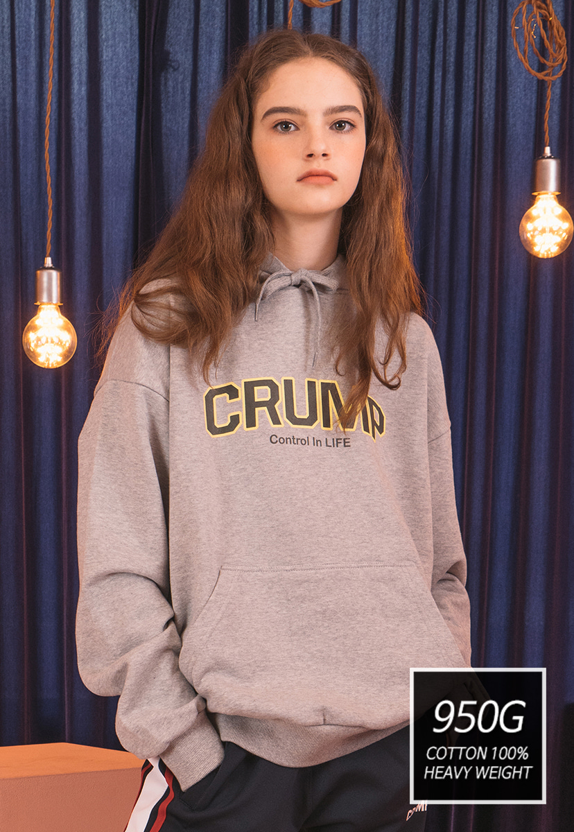 [SOLD OUT] [크럼프] [기모] 950g Crump soft hoodie (CT0169)