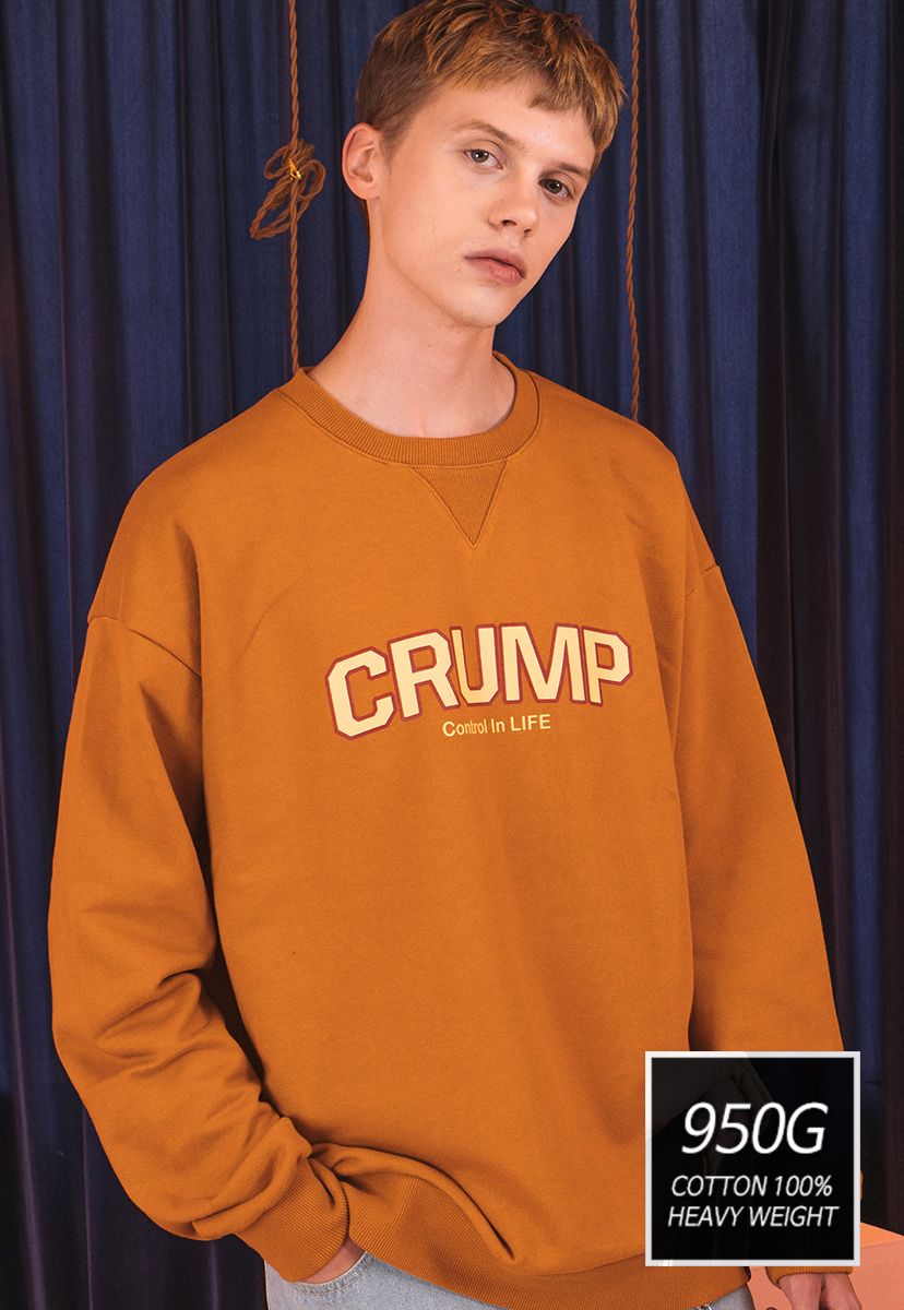 [크럼프]] [기모] 950g Crump soft sweat shirt(CT0175-1)