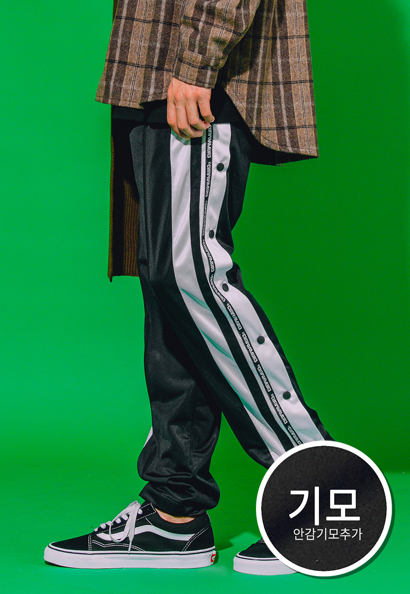 [크럼프] [기모]Crump snap track pants (CP0070g)