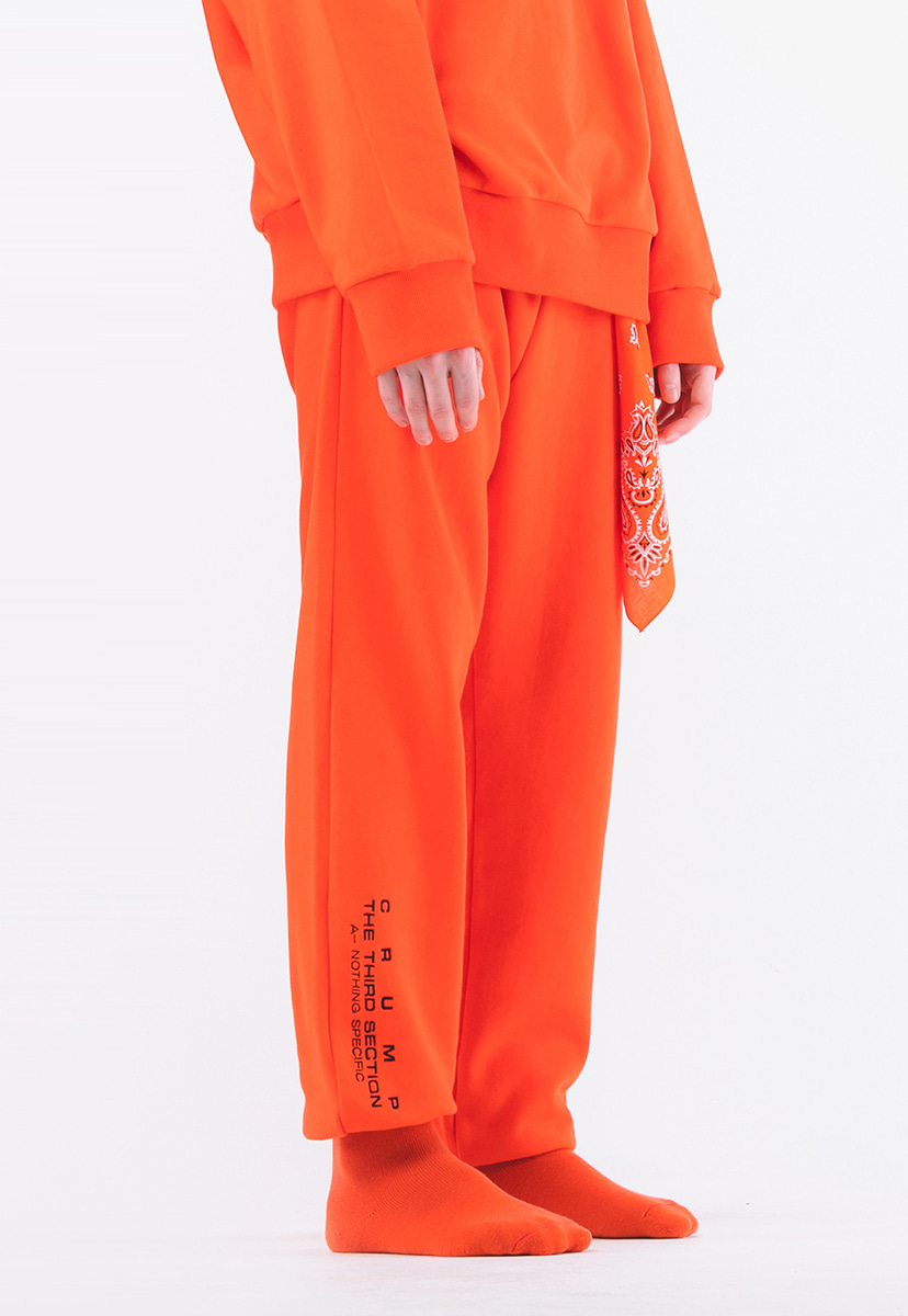 [크럼프] Crump terry sweat jogger  pants  (CP0075-2)
