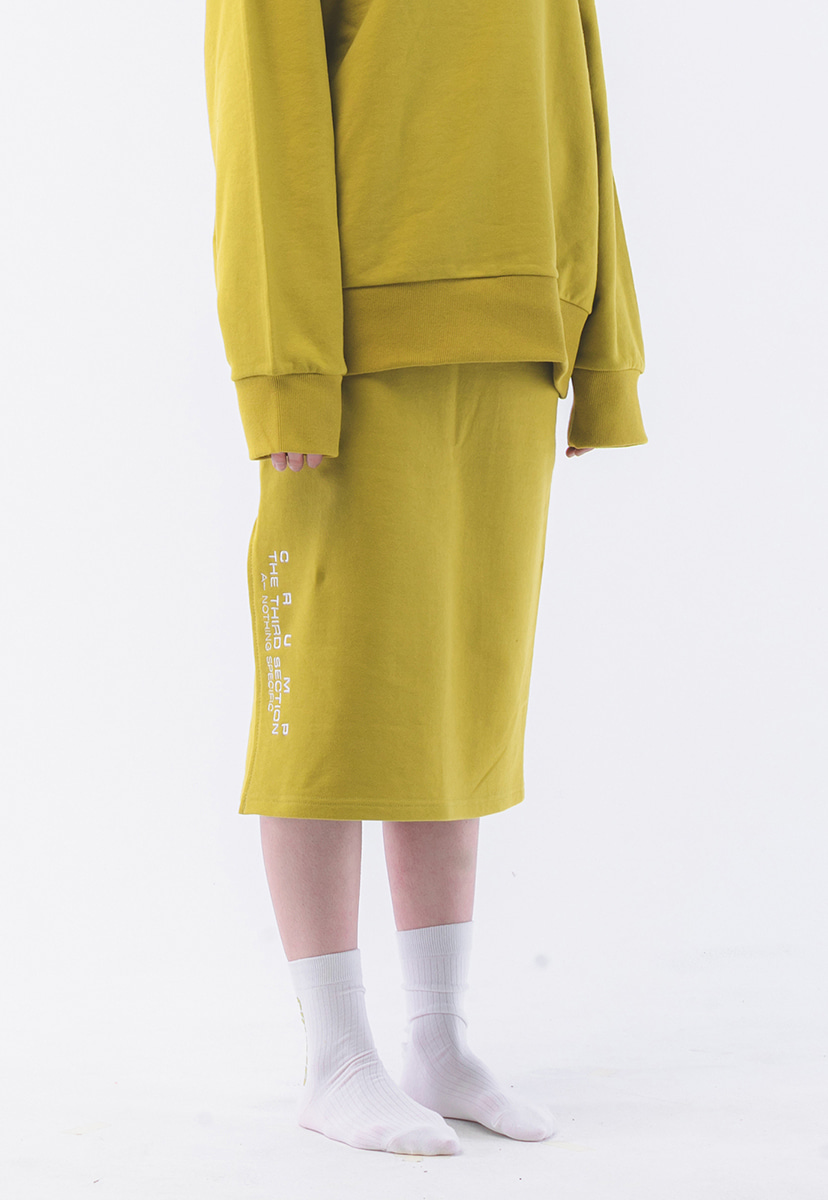 [크럼프] Crump terry sweat skirt (CB0001-1)