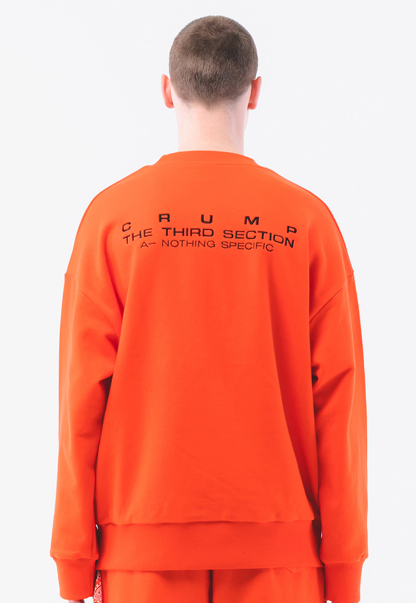 [크럼프] Crump terry sweat shirt  (CT0181-2)