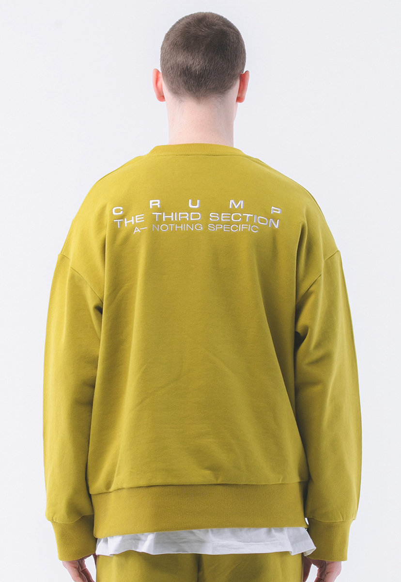 [크럼프] Crump terry sweat shirt  (CT0181-1)