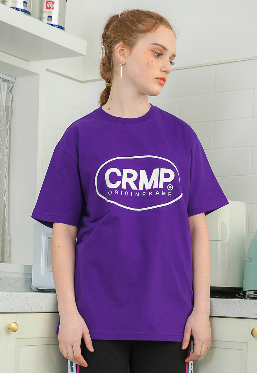 [크럼프] Crump circle logo short sleeve (CT0195-1)