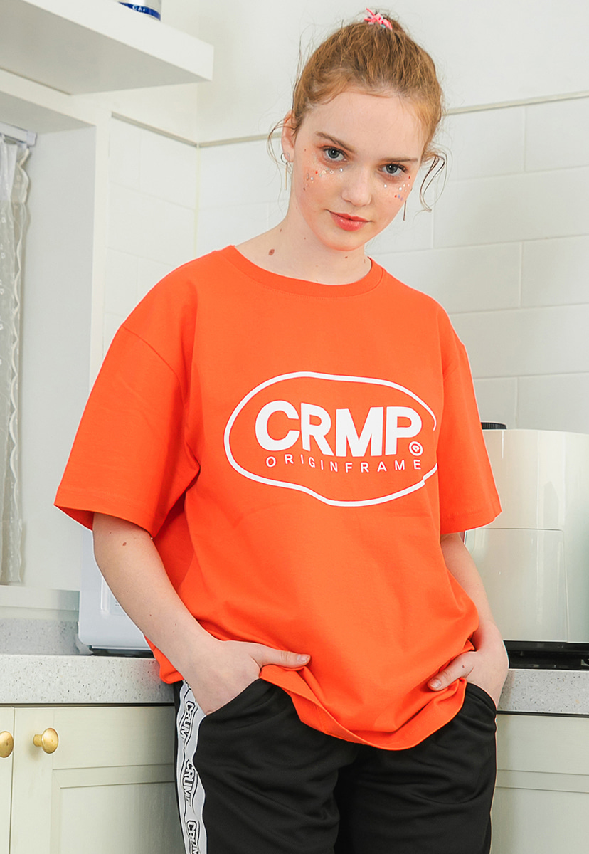 [크럼프] Crump circle logo short sleeve (CT0195-2)