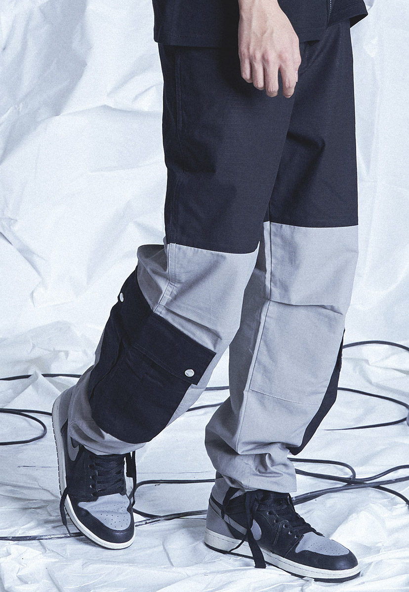 [테크플레이버] Techflavor effects big cargo jogger pants (TP0021-1)
