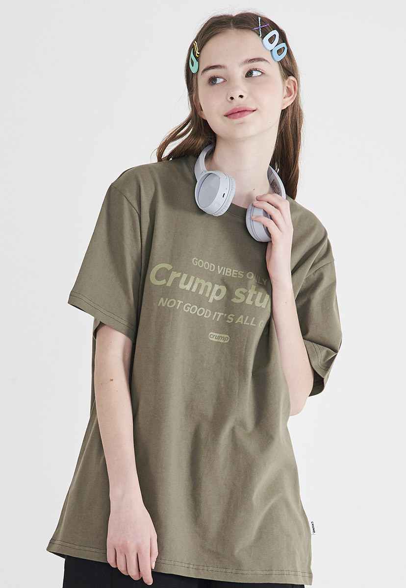 [크럼프] Crump studio logo t-shirt (CT0209-1)