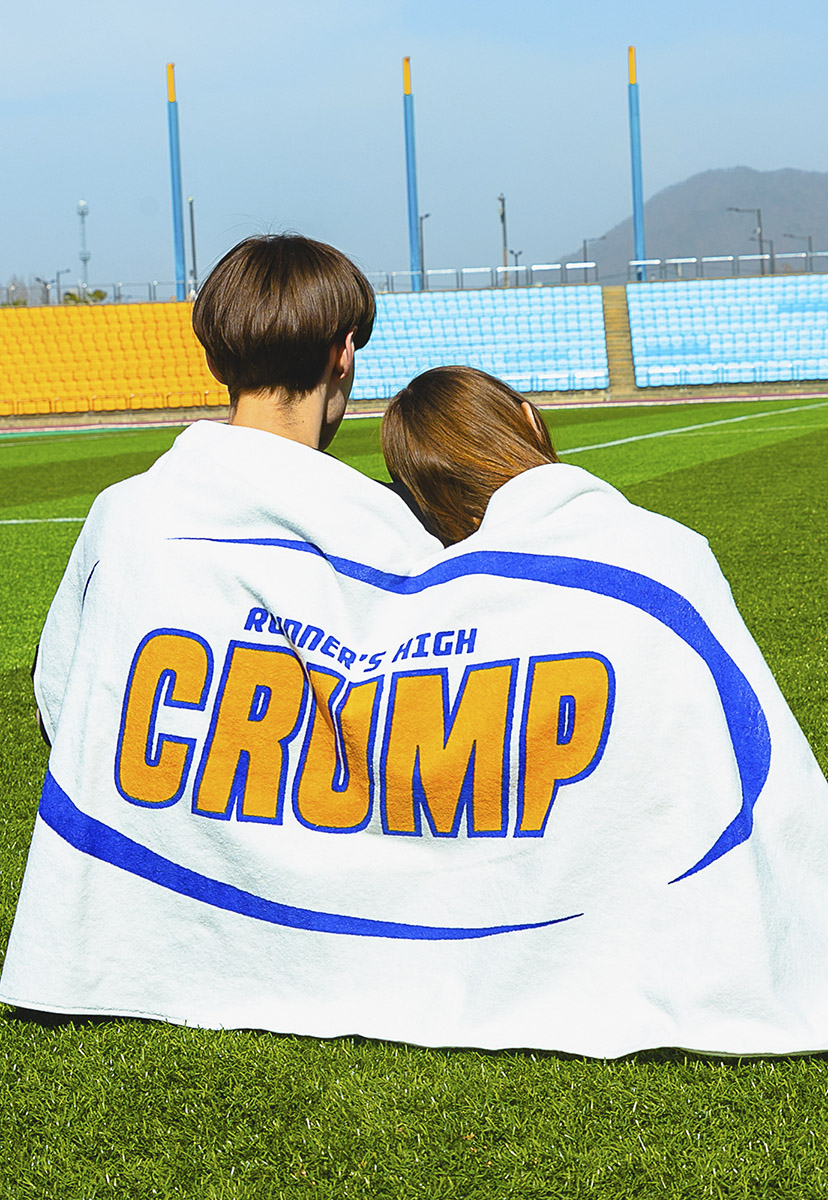 [크럼프] Crump big logo sweat towel (CA0032)