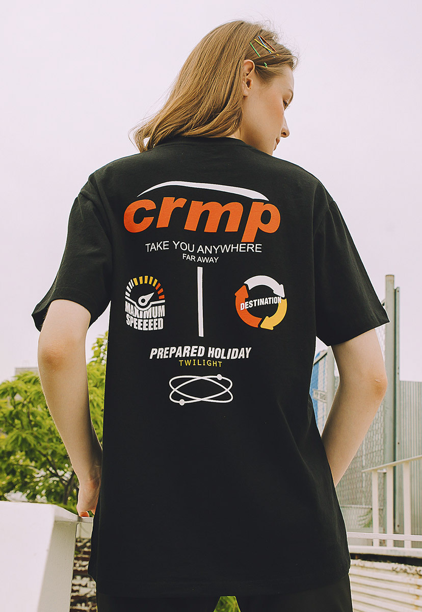 [크럼프] Crump research logo tee (CT0213)