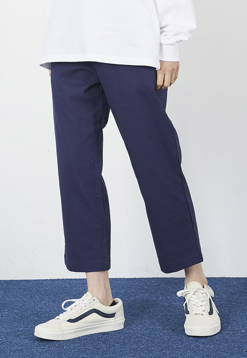 [크럼프] Crump linen crop pants (CP0100-1)
