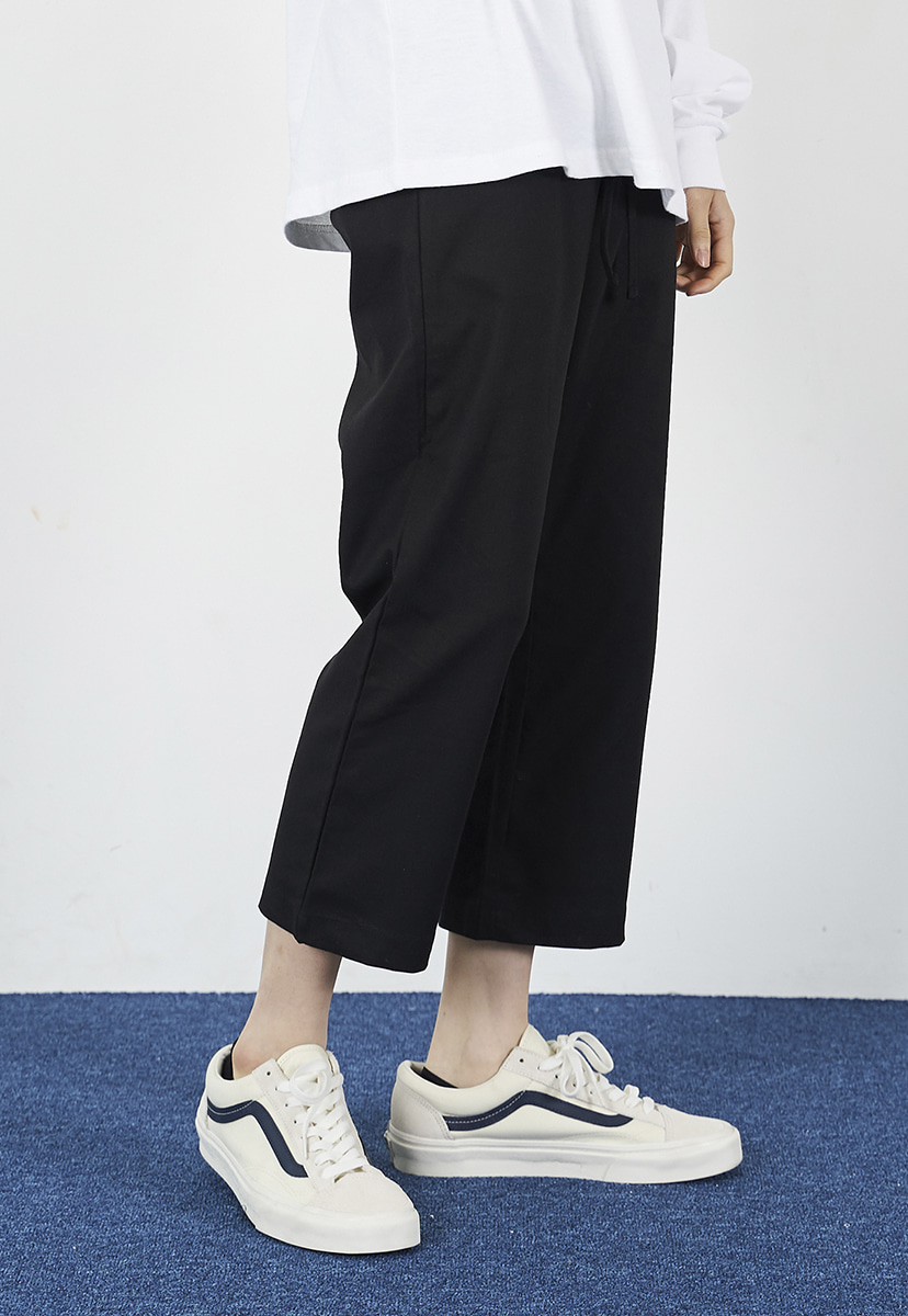 [크럼프] Crump linen crop pants (CP0100)