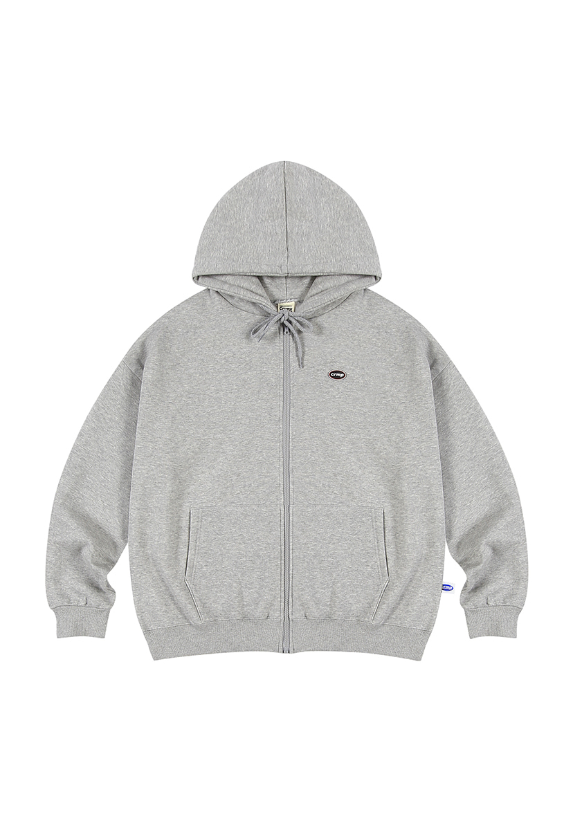 [크럼프][기모] Crump wappen piping hoodie zip-up (CT0231g-1)