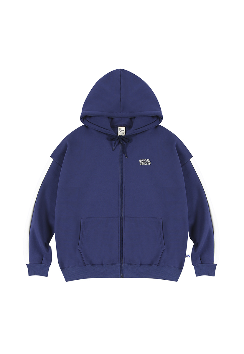 [크럼프][기모] Crump studio line hoodie zip-up (CT0232g-1)