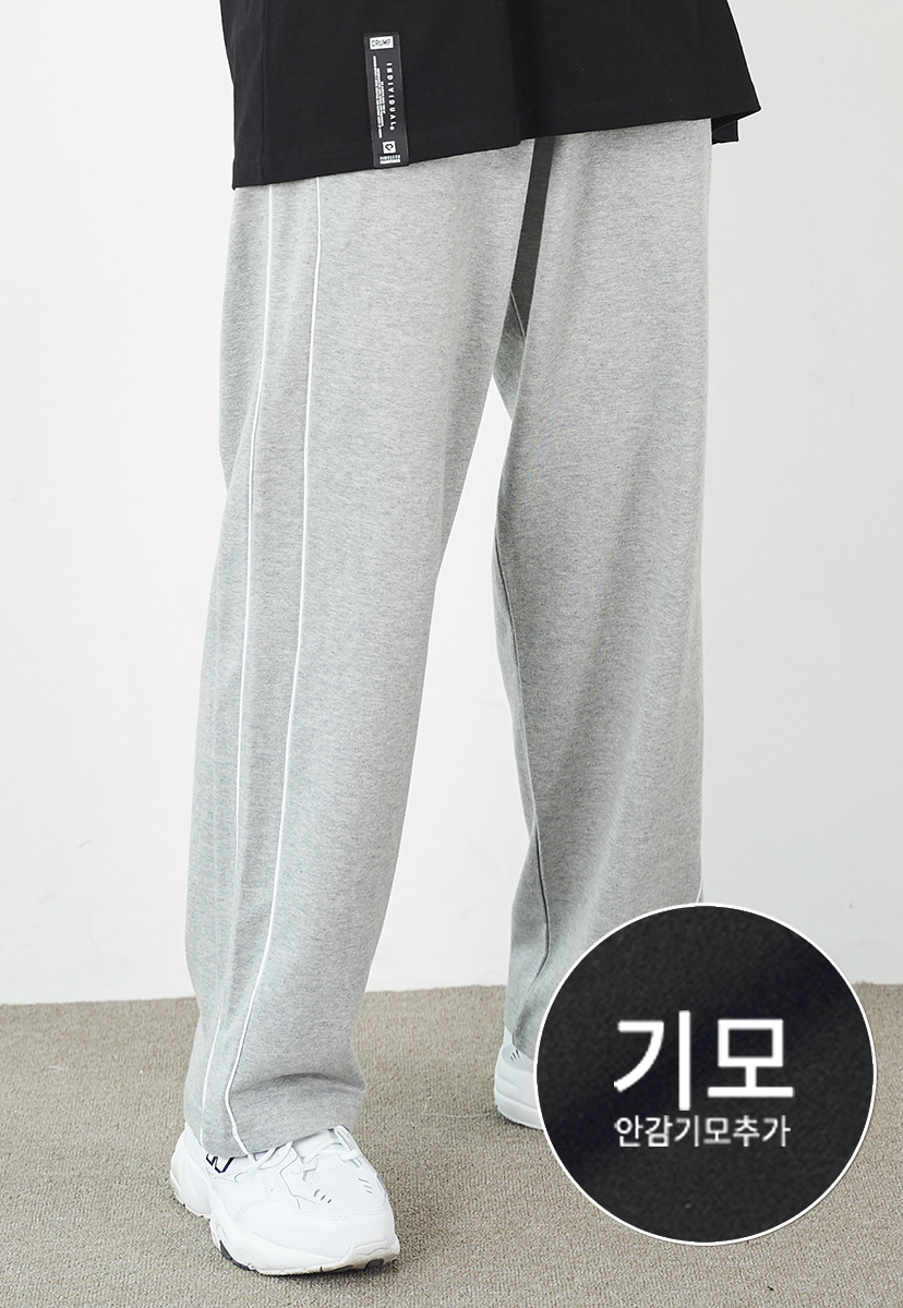 [크럼프] [기모] Crump piping track pants (CP0104g-1)