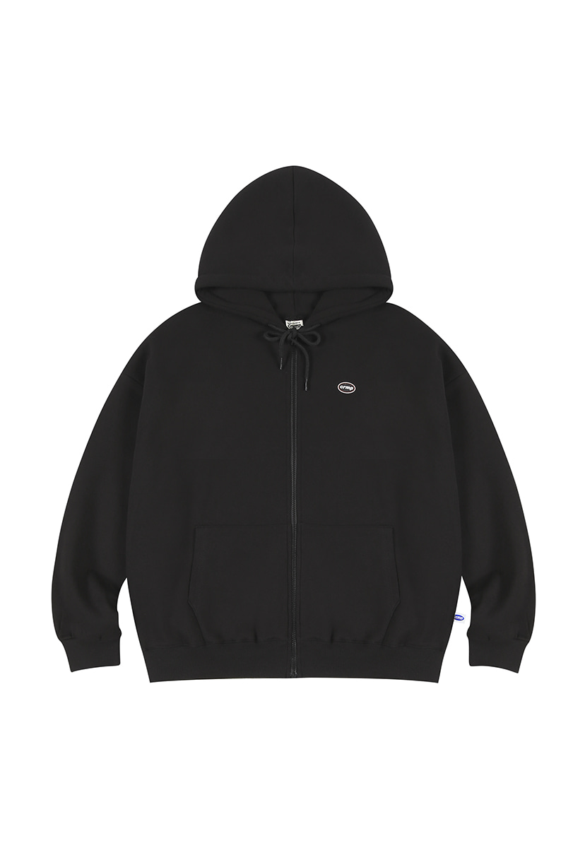 [크럼프][기모] Crump wappen piping hoodie zip-up (CT0231g)