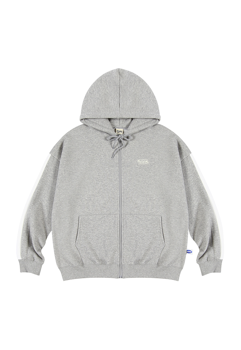 [크럼프][기모] Crump studio line hoodie zip-up (CT0232g-2)