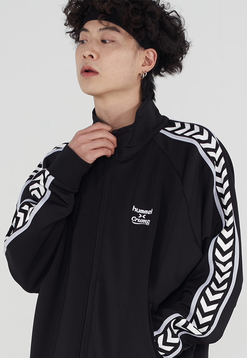 [험멜X 크럼프] chevron logo track top (HO004)